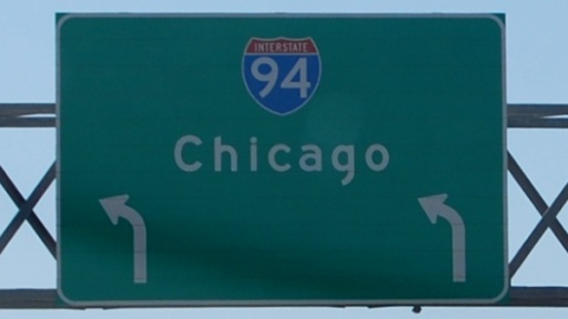 Interstate 94 nach Chicago