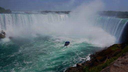 Kanadischer Teil der Niagarafälle