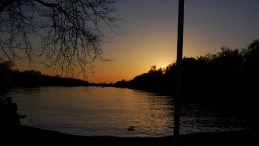 Sonnenuntergang auf den Toronto Islands