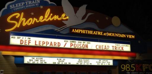 Def Leppard im Shoreline Amphitheatre